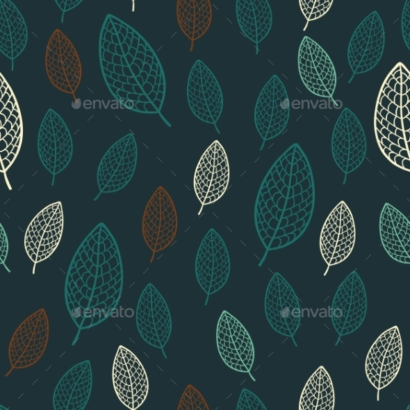 GraphicRiver Leaves Pattern 10454886