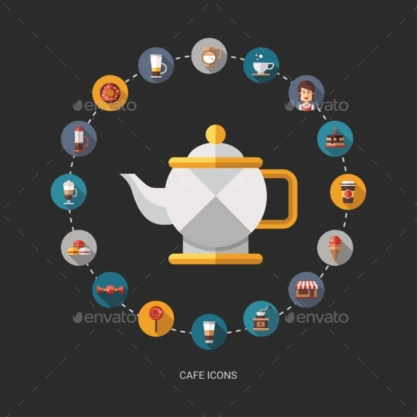 GraphicRiver Coffee Shop Background 10454898