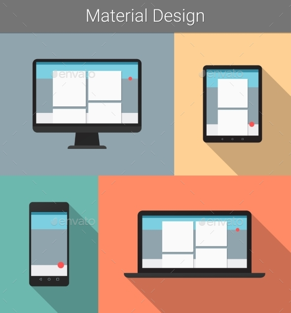 GraphicRiver Responsive Material Design 10454945