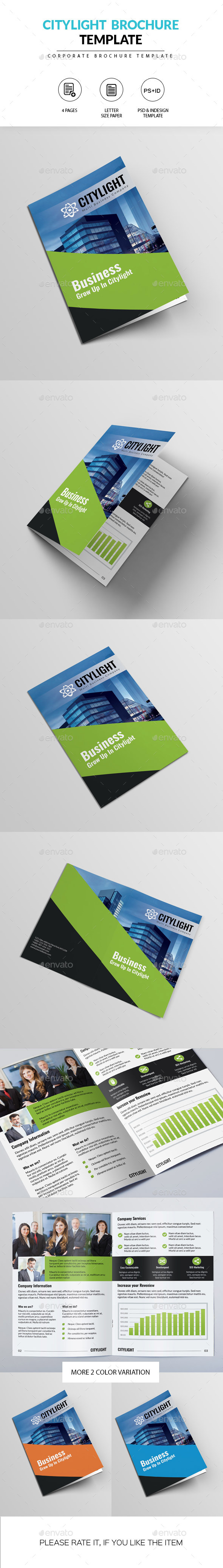 GraphicRiver Corporate Brochure-CityLight 10413047