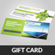 Green Energy Business Gift Card Voucher  - GraphicRiver Item for Sale