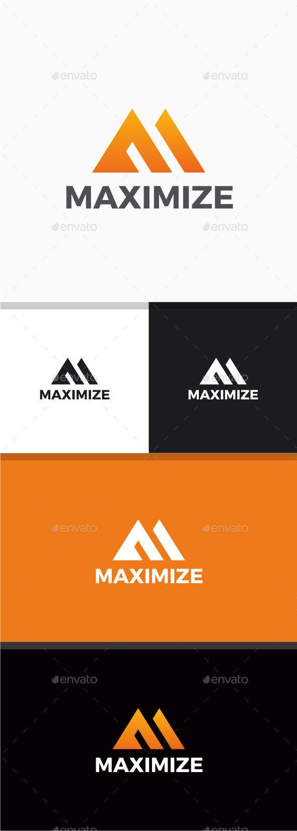 GraphicRiver Maximize logo 10455198