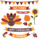 Thanksgiving Vector Set - GraphicRiver Item for Sale