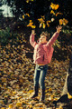 Little girl autumn portrait - PhotoDune Item for Sale