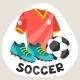 Soccer Symbols - GraphicRiver Item for Sale