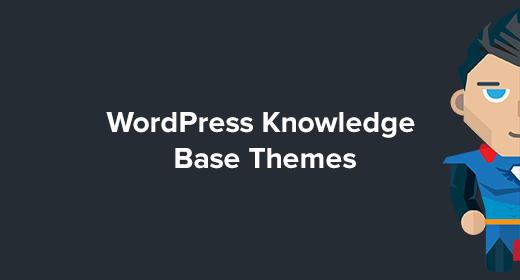 WordPress Knowledge Base Themes