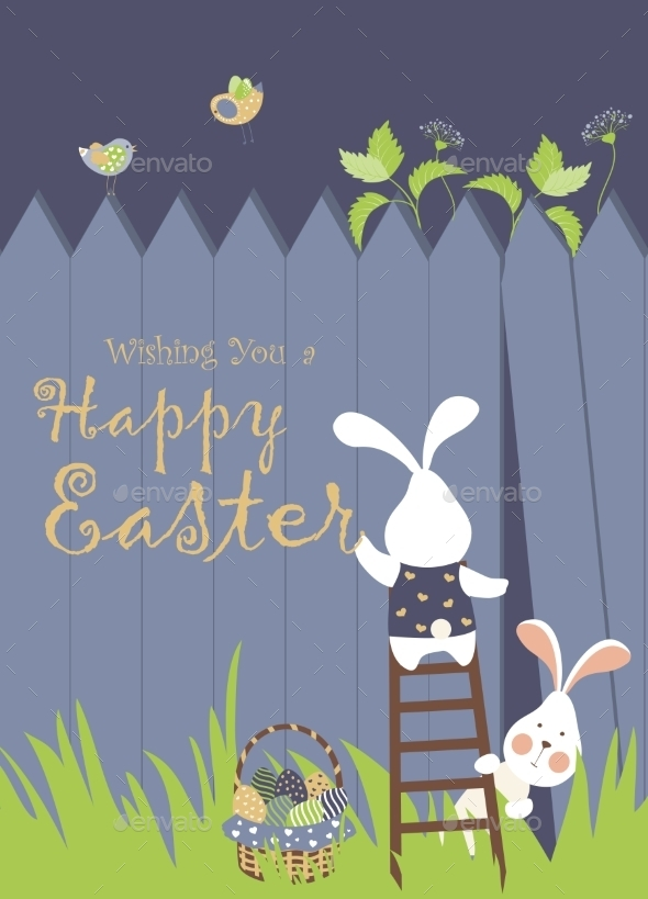 GraphicRiver Easter Background 10456595