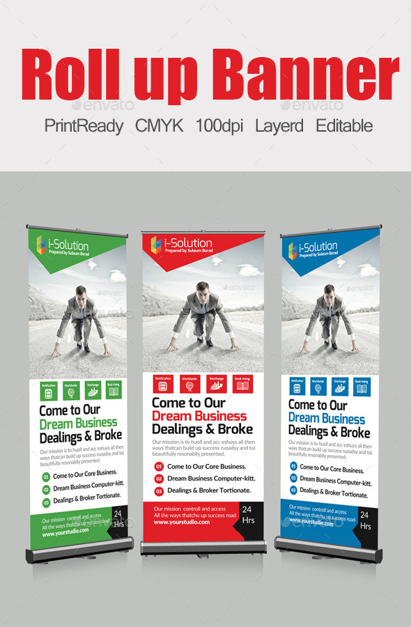 GraphicRiver Roll Up Business Banners 10413118