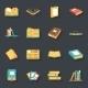 Book Symbols  - GraphicRiver Item for Sale
