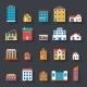 Retro Houses - GraphicRiver Item for Sale
