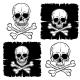 Set of Skull and Crossbones - GraphicRiver Item for Sale