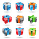 Glossy Cubic Shapes - GraphicRiver Item for Sale