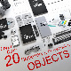 Stationary, Mockup  and Office Pack (Over 20 Objects) - 3DOcean Item for Sale