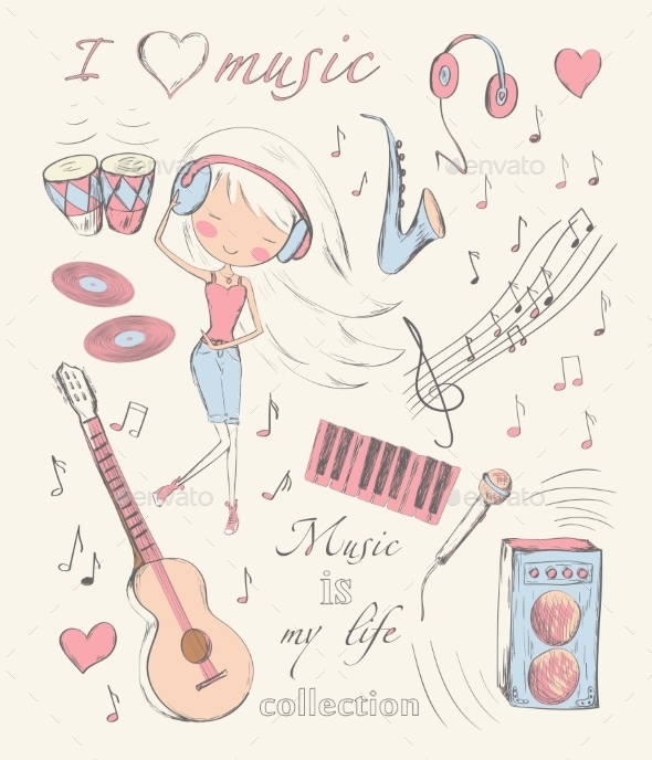 GraphicRiver Music and Accessories 10457394