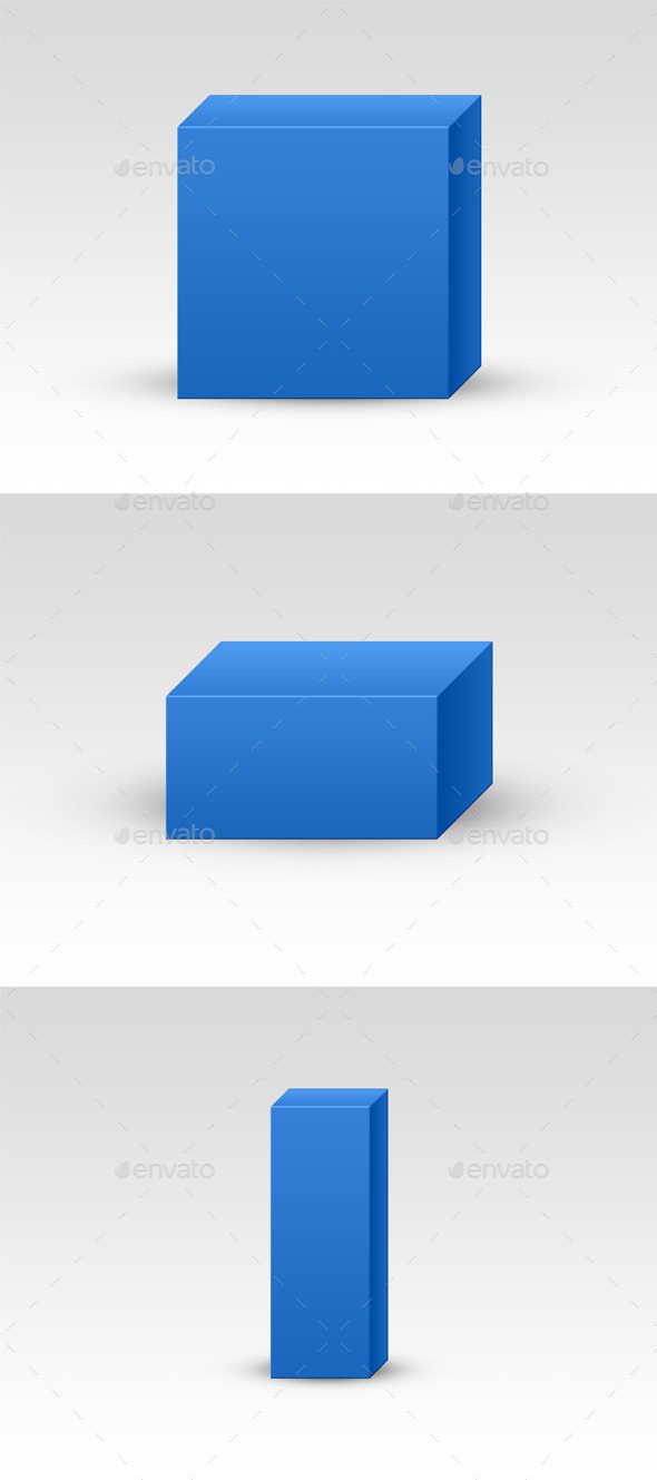 GraphicRiver Basic Universal Packaging Mockup 10457396