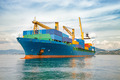 merchant container ship - PhotoDune Item for Sale