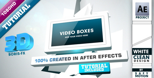 VideoHive After Effects Project - Video Boxes 806814