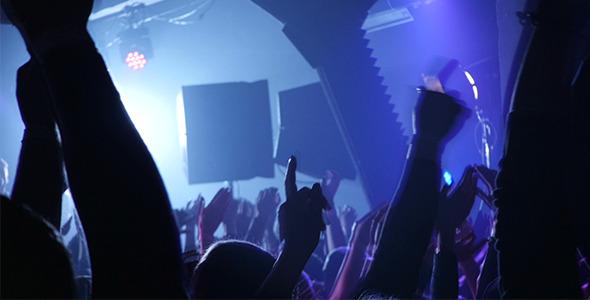Amazing Fans In Concert Dance Floor