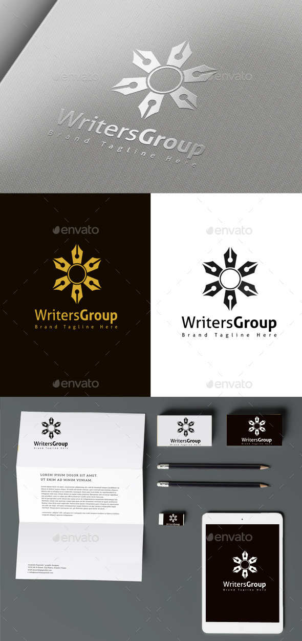 GraphicRiver Writer Group 10457702