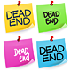 Dead End Sticky Note - GraphicRiver Item for Sale