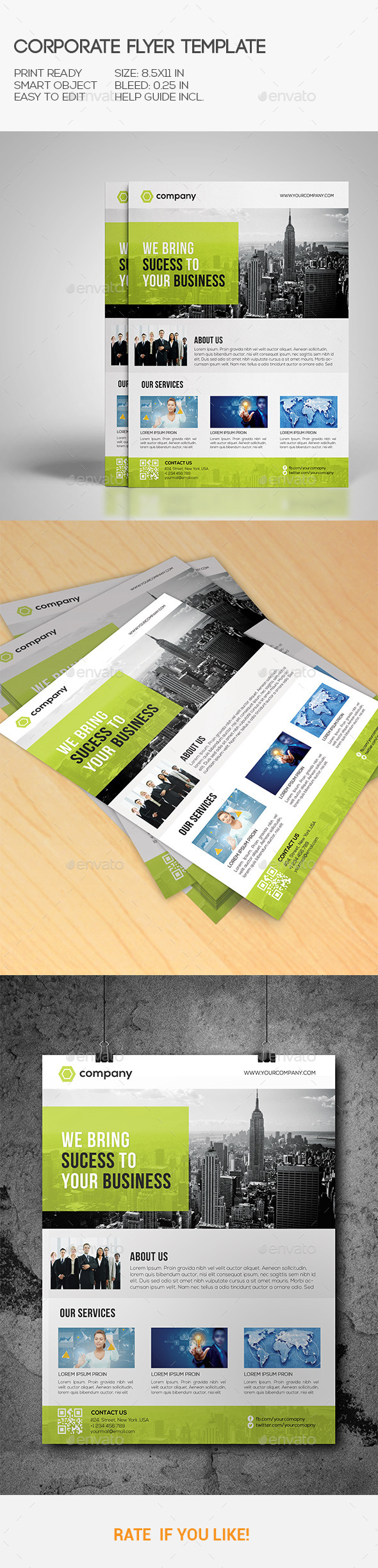GraphicRiver Corporate Flyer 10458683