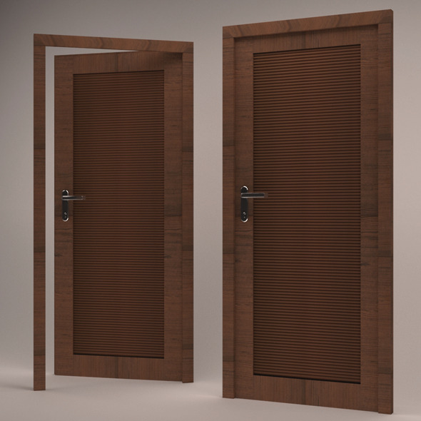 3D Modern Door  - 3DOcean Item for Sale