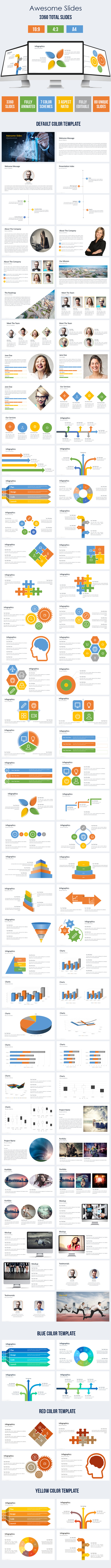 GraphicRiver Terrano Multipurpose Powerpoint Presentation Template 10458755