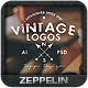 Vintage Logos and Badges Set 4 - GraphicRiver Item for Sale