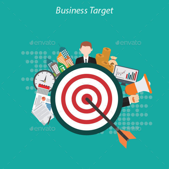 GraphicRiver Business Target 10459607