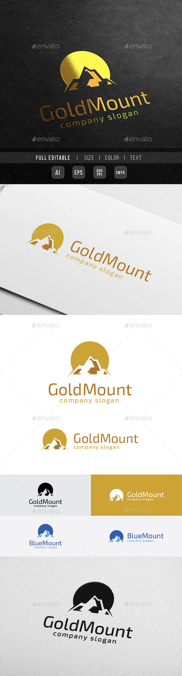 Golden Mountain - Finance Marketing