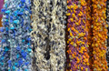 Colorful woollen scarves - PhotoDune Item for Sale