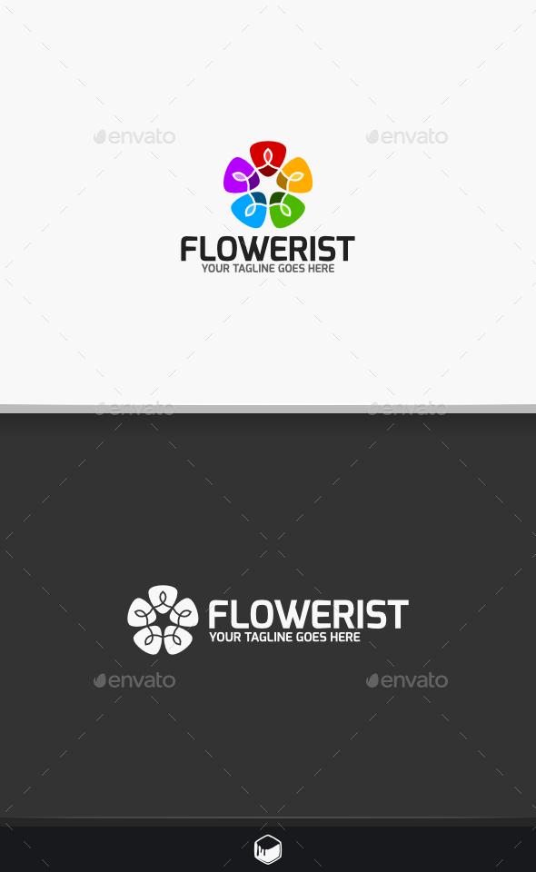 GraphicRiver Flowerist Logo 10459739