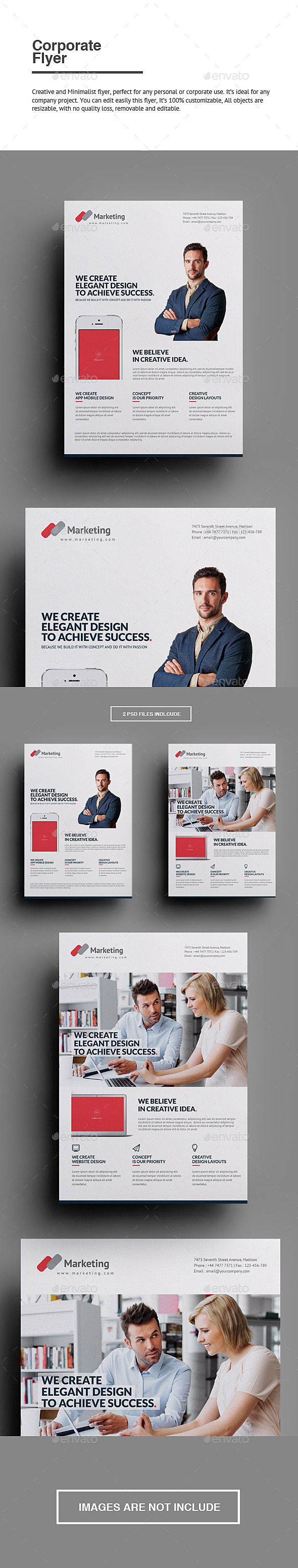 GraphicRiver Corporate Flyer 10401525