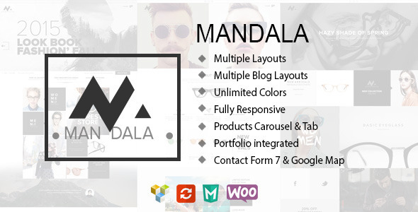 ThemeForest Mandala Responsive Ecommerce Wordpress Theme 10371094