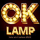 Gold Lamp Font - GraphicRiver Item for Sale
