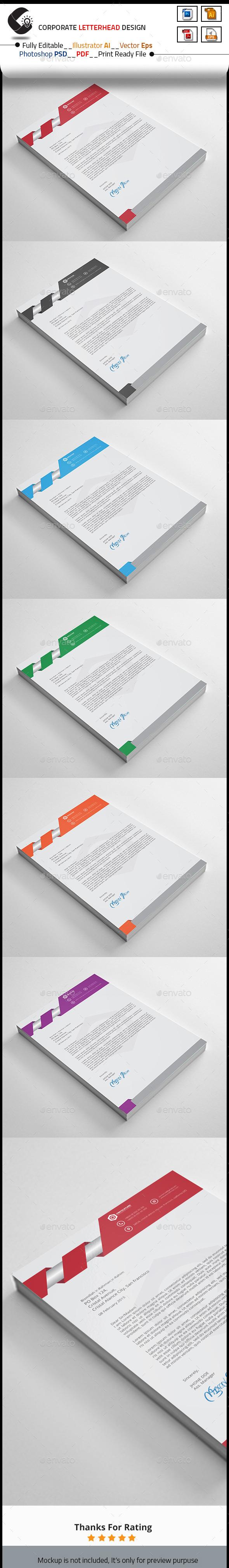 GraphicRiver Letterhead 10461461