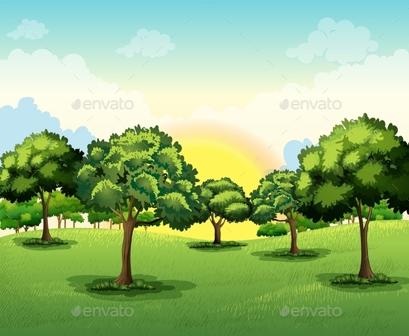 GraphicRiver Tall Trees 10461489