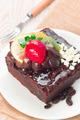 Piece of chocolate cake - PhotoDune Item for Sale