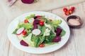 Fresh salad with tomatoes and beetroot - PhotoDune Item for Sale