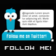 "Twitter - ""Follow me!"" Buttons - GraphicRiver Item for Sale"