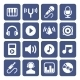 Music Icons Set - GraphicRiver Item for Sale