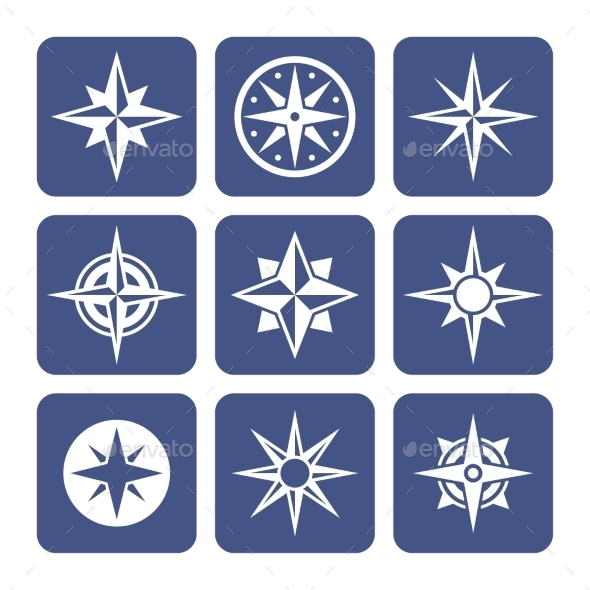 GraphicRiver Compass Icons Set 10462392