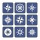 Compass Icons Set - GraphicRiver Item for Sale