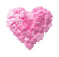 Big heart made of small pink hearts - PhotoDune Item for Sale