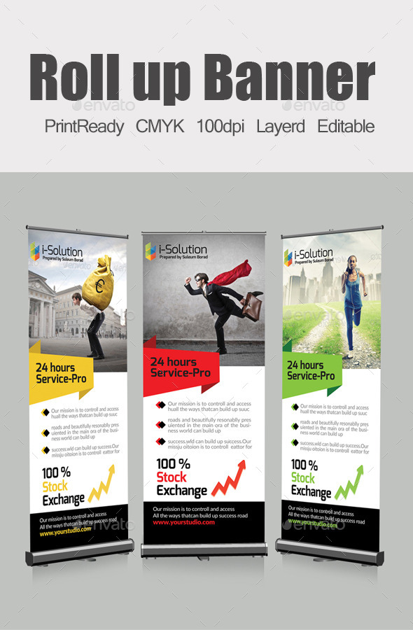 GraphicRiver Roll Up Business Banners 10413894