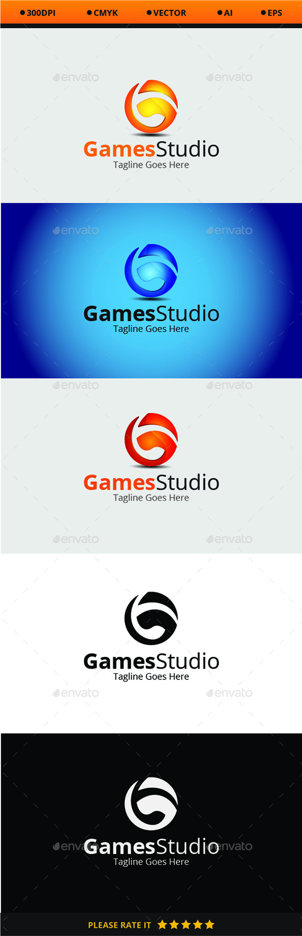 GraphicRiver Games Studio 10462904