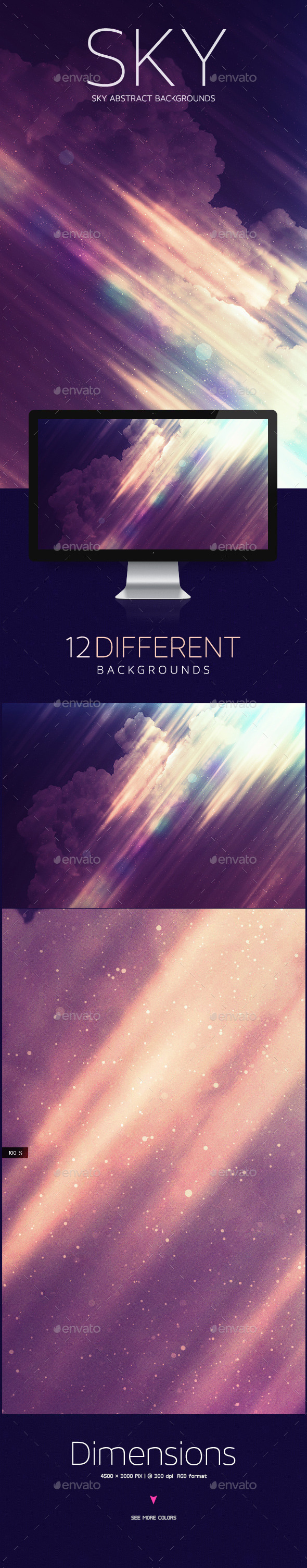 GraphicRiver SKY Abstract Backgrounds 10463047