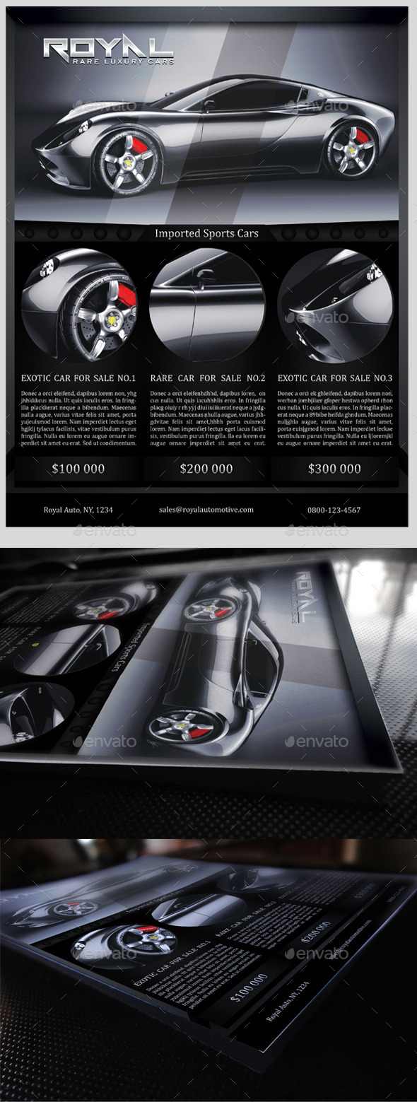 GraphicRiver Automotive Business Flyer 10463077