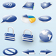 3d ctystal Icons - GraphicRiver Item for Sale