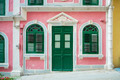 portuguese colonial house architecture in macau china - PhotoDune Item for Sale